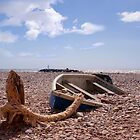 On Sidmouth Beach by Andy Coleman