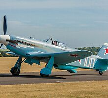 New-build Yakovlev Yak-3M G-CGXG taxying by Colin Smedley