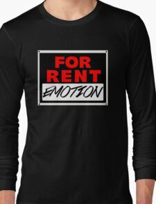Rent - Emotion FOR RENT Long Sleeve T-Shirt