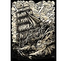 PIRATE BOAT Photographic Print
