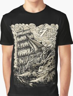 PIRATE BOAT Graphic T-Shirt