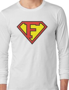 Super Initials Tee - F Long Sleeve T-Shirt