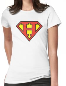 Super Initials Tee - H Womens Fitted T-Shirt
