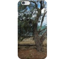 Windswept Trees by the Sea iPhone Case/Skin