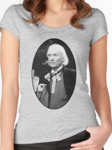 William Hartnell Shirt (1st Doctor) Women's Fitted Scoop T-Shirt