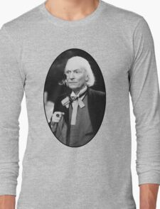 William Hartnell Shirt (1st Doctor) Long Sleeve T-Shirt
