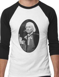 William Hartnell Shirt (1st Doctor) Men's Baseball ¾ T-Shirt
