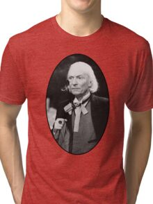 William Hartnell Shirt (1st Doctor) Tri-blend T-Shirt