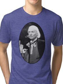 William Hartnell Shirt (1st Doctor) Tri-blend T-Shirt