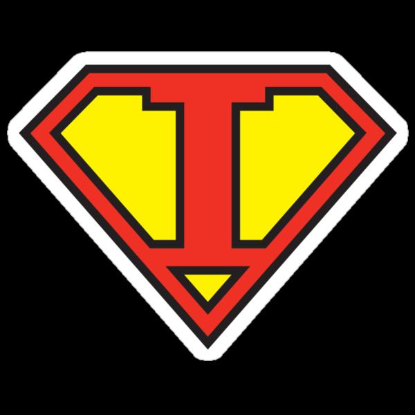 Super Initials Tee - I by NerdUniversitee