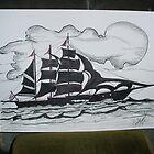 AMERICAN CLIPPER SHIP 1788 by charlesadams