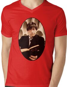 Patrick Troughton Shirt (2nd Doctor) Mens V-Neck T-Shirt