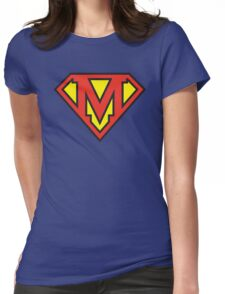 Super Initials Tee - M Womens Fitted T-Shirt