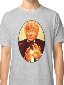 John Pertwee (3rd Doctor) Classic T-Shirt