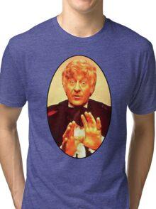 John Pertwee (3rd Doctor) Tri-blend T-Shirt