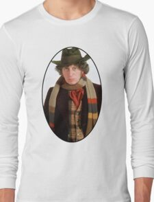 Tom Baker (4th Doctor) Long Sleeve T-Shirt