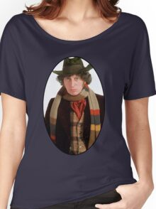 Tom Baker (4th Doctor) Women's Relaxed Fit T-Shirt