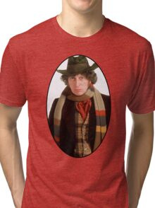 Tom Baker (4th Doctor) Tri-blend T-Shirt