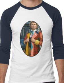Colin Baker (6th Doctor) Men's Baseball ¾ T-Shirt