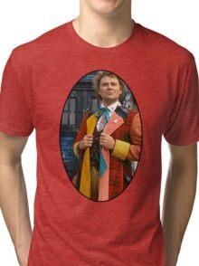 Colin Baker (6th Doctor) Tri-blend T-Shirt