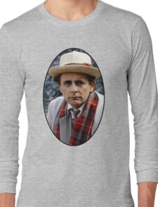 Sylvester McCoy (7th Doctor) Long Sleeve T-Shirt