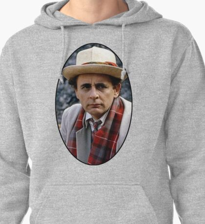 Sylvester McCoy (7th Doctor) Pullover Hoodie