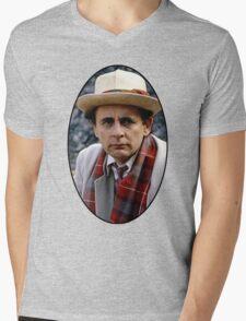Sylvester McCoy (7th Doctor) Mens V-Neck T-Shirt