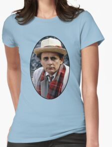 Sylvester McCoy (7th Doctor) Womens Fitted T-Shirt
