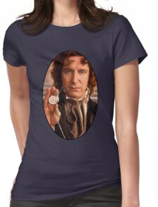 Paul McGann (8th Doctor) Womens Fitted T-Shirt