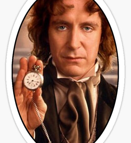 Paul McGann (8th Doctor) Sticker