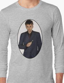 David Tennant (10th Doctor) Long Sleeve T-Shirt