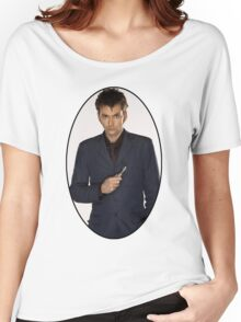David Tennant (10th Doctor) Women's Relaxed Fit T-Shirt