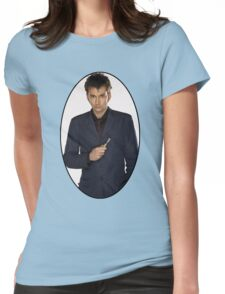 David Tennant (10th Doctor) Womens Fitted T-Shirt