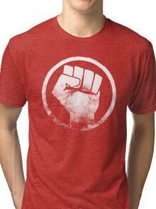 Revolution fist T-Shirt Tri-blend T-Shirt