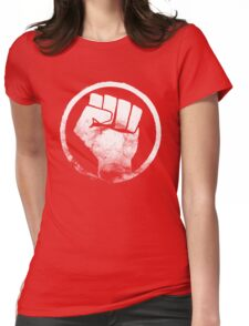 Revolution fist T-Shirt Womens Fitted T-Shirt