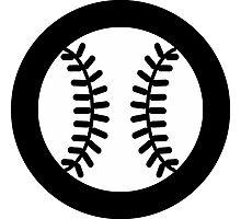 Baseball Ideology Photographic Print