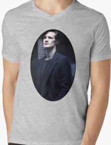 Matt Smith (11th Doctor) Mens V-Neck T-Shirt