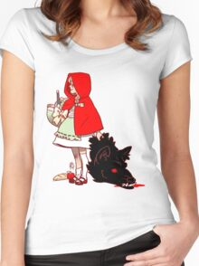 Little Red Hood Women's Fitted Scoop T-Shirt