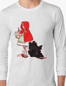 Little Red Hood Long Sleeve T-Shirt
