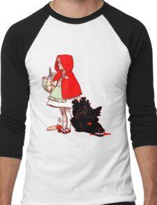 Little Red Hood Men's Baseball ¾ T-Shirt