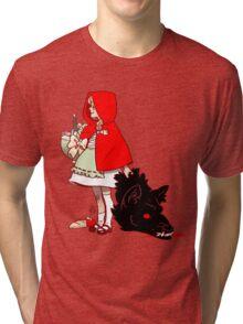 Little Red Hood Tri-blend T-Shirt