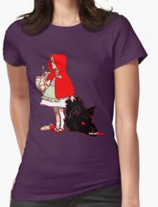 Little Red Hood Womens Fitted T-Shirt