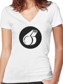 Coach Ideology Women's Fitted V-Neck T-Shirt