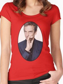Peter Capaldi (12th Doctor) Women's Fitted Scoop T-Shirt