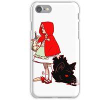 Little Red Hood iPhone Case/Skin