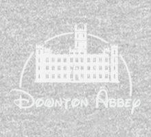 Downton Abbey / Disney //all white artwork// Baby Tee