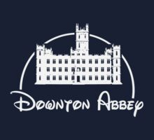 Downton Abbey / Disney //all white artwork// Kids Tee