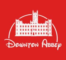 Downton Abbey / Disney //all white artwork// One Piece - Long Sleeve