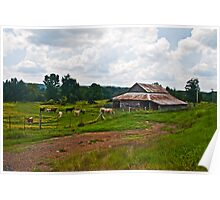 Summer Day on the Farm Poster