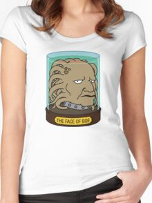 The Face of Boe Women's Fitted Scoop T-Shirt